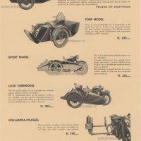 Kenteken Motorfiets met of zonder zijspan