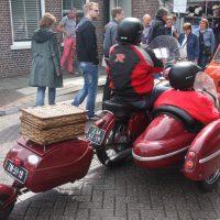 Rijden met een aanhanger achter een motorfiets