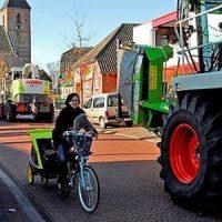 Geen kentekenplicht landbouwvoertuigen
